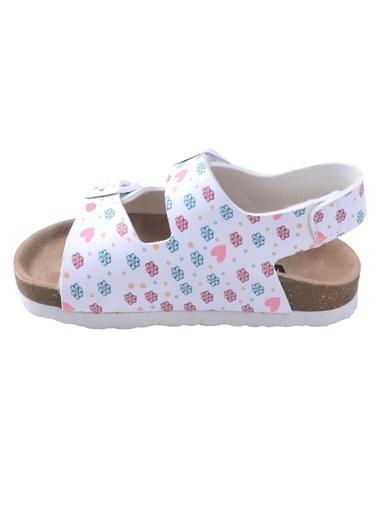 Vicco Vicco 321.20Y.363 Günlük Kız Çocuk Sandalet Terlik Beyaz